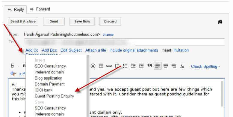 How to Create Gmail Email Template And why?