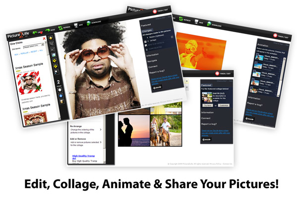 5 Awesome Websites to Create Photo Collages