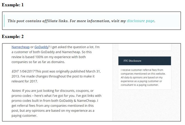 FTC Affiliate Disclosure For Bloggers Everything You Need To Know