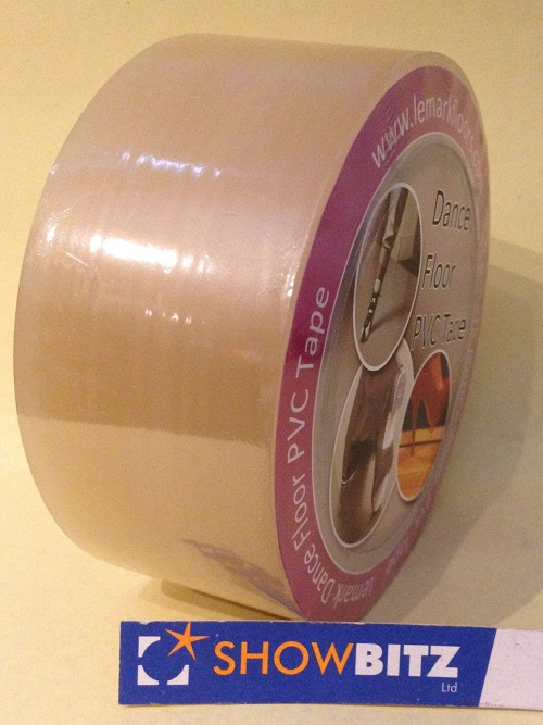 Lemark Professional Clear Dance Splicing Floor Tape 50mm