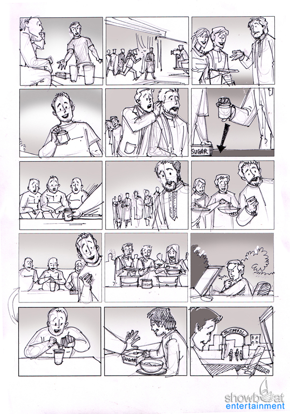 Storyboards Gallery Commercial Storyboard artists