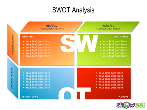 Calendar Tool For Powerpoint 2018 Interactive Calendar A Powerpoint Template From Swot Analysis Free Powerpoint Charts
