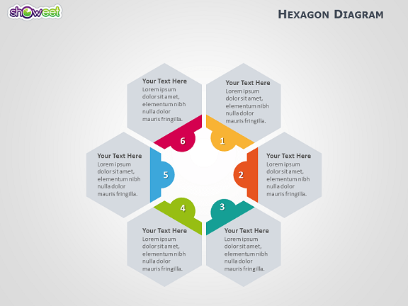 Get Free Resume Templates And Cover Letter Samples Hexagon Diagram For Powerpoint