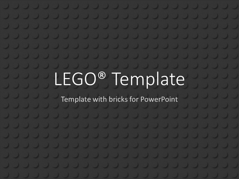 black powerpoint template