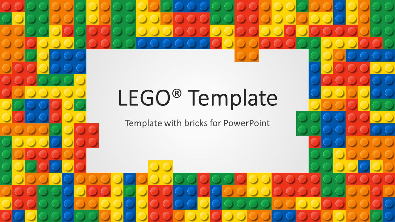 Presentation Magazine Calendar Powerpoint Templates Lego Powerpoint Template