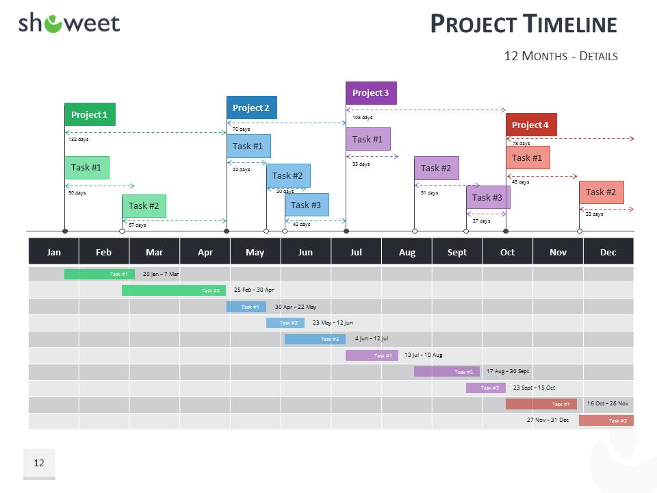 calendar timeline powerpoint