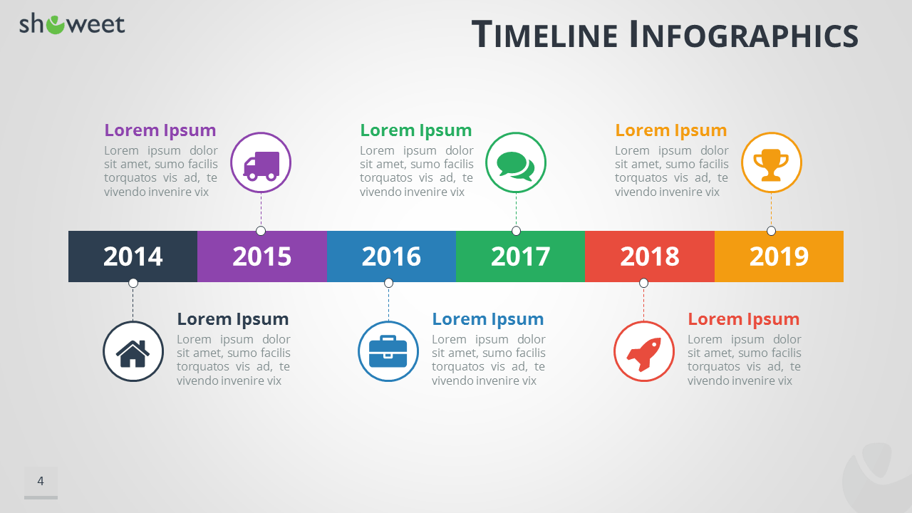 free cv template with time line
