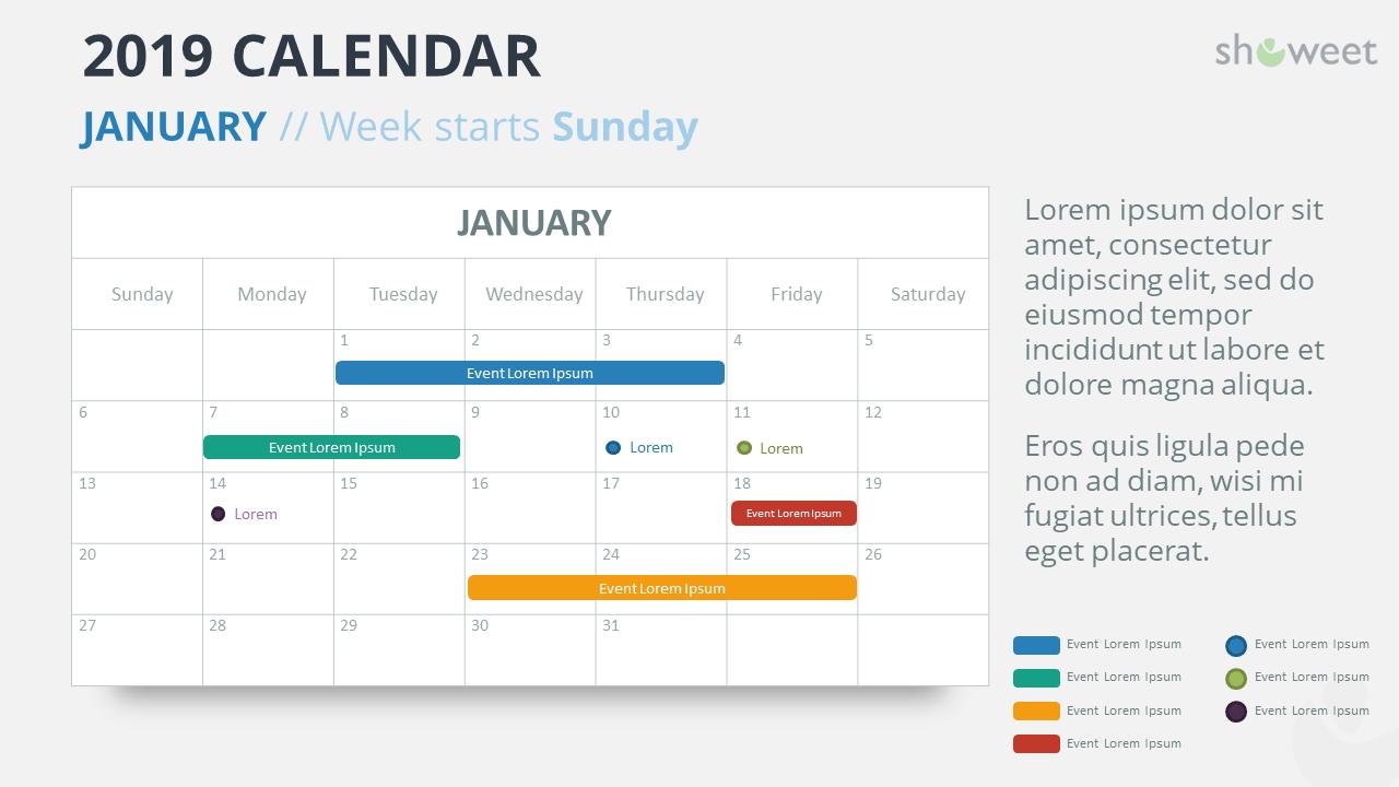 calendar templates powerpoint