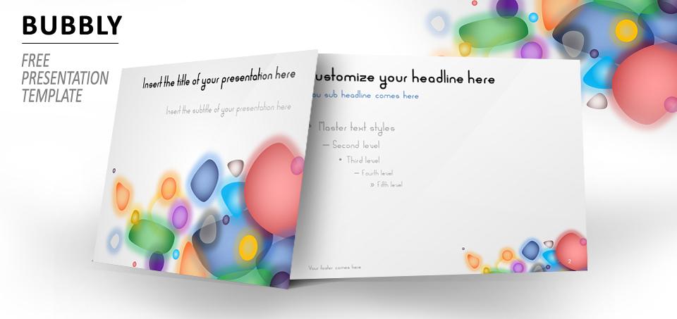 Bubbly Plantilla PowerPoint e Impress