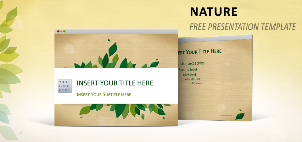 Nature Template for PowerPoint and Impress - nature powerpoint