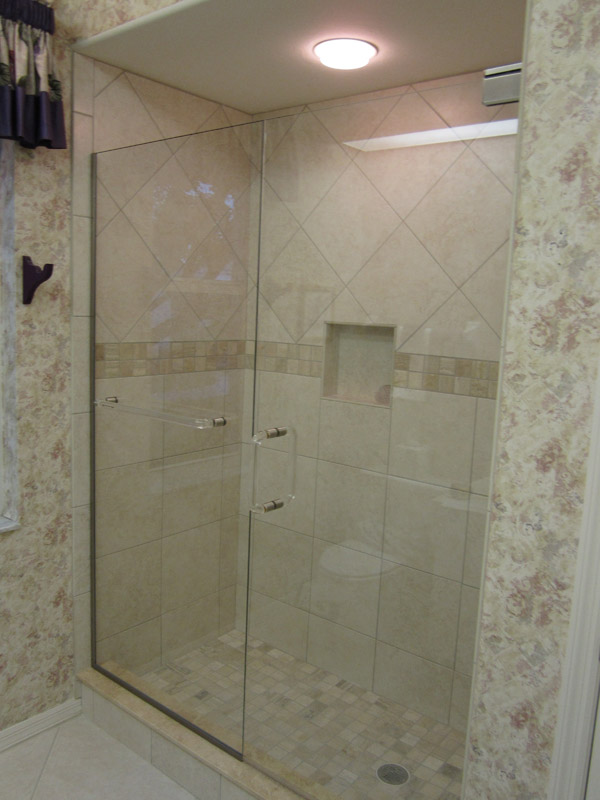 Bathtub Doors Trackless Excellent Width Frameless Hinged