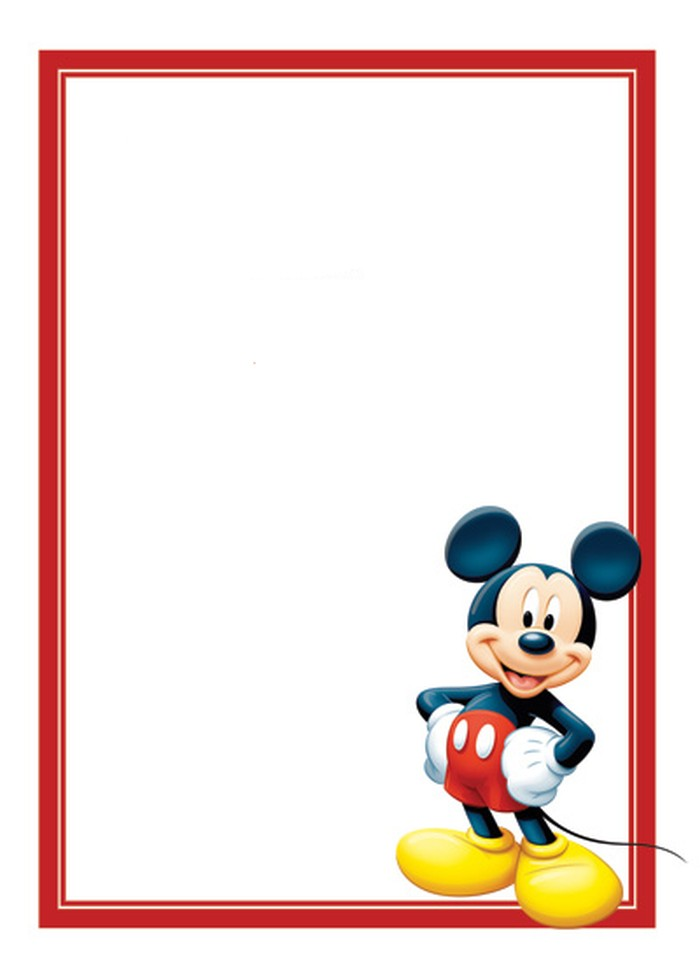 mickey mouse invitation templates - Yelommyphonecompany