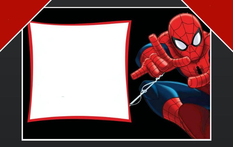 Free Spiderman birthday party invitation template Invitations Online - free party invitations templates online
