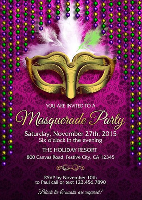 design party invitations online free