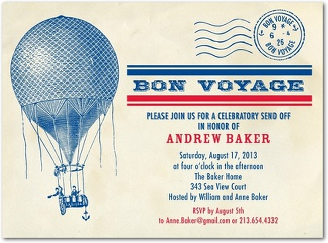 going away party invitation sample Invitations Online - sample party invites