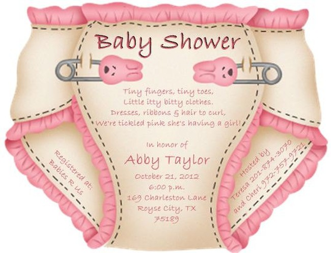 Exciting tips on Organizing Baby Shower and Making Diaper Baby