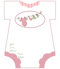 diaper baby shower invitations free template | Invitations ...