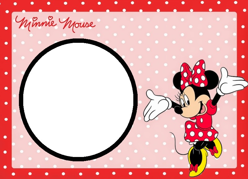 Minnie Mouse Free Template Invitations Online - free template invitation
