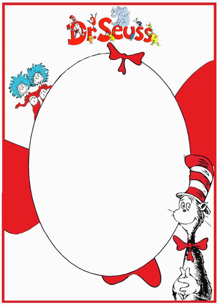 Dr Seuss Free Printable Invitation Templates - free invitation templates