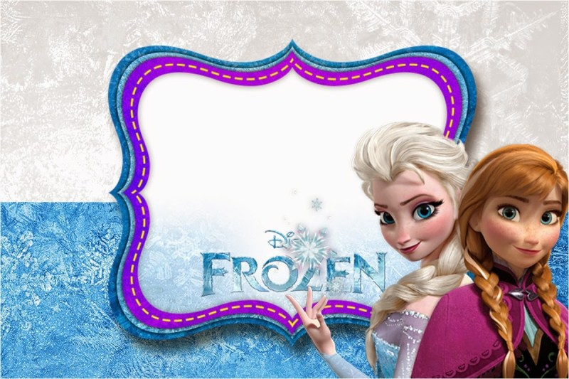 Large Of Frozen Birthday Invitations