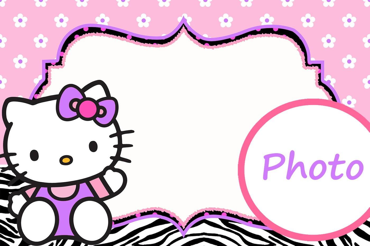 hello kitty birthday invitations templates