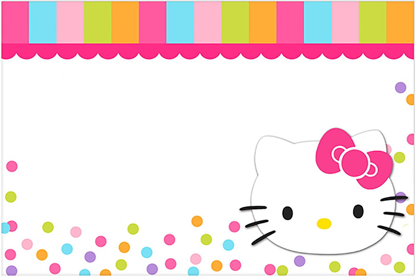 hello kitty birthday invitations free