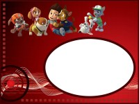 Make Printable Paw Patrol Invitations using Free Templates