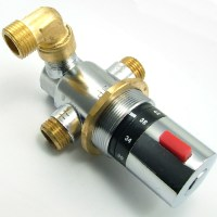 Triton shower tower temperature control valve