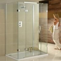 Aquadart 900 x 900mm 3 Sided Shower Enclosure AQ1030