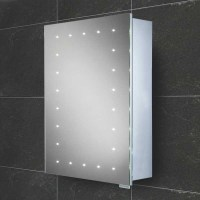 HIB Vogue Steam free LED aluminium cabinet | 42900
