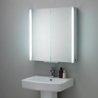 HIB Xenon 60 LED Aluminium Illuminated Bathroom Cabinet ...