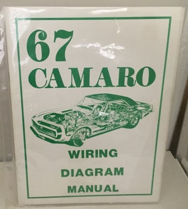67 Camaro Wiring Diagram Manual