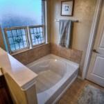 large bathtub