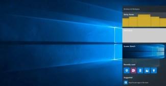 Área de Trabalho do Windows Ink