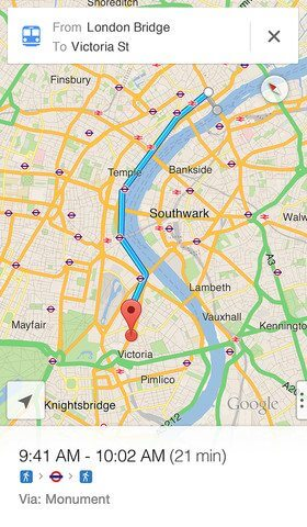 Baixe agora o Google Maps para iPhone