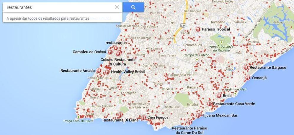 Restaurantes em Salvador