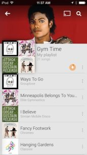 Google Play Music para iOS