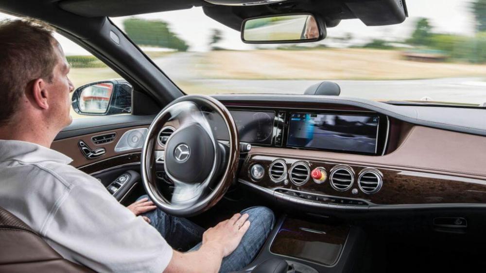 Carro Sem Motorista Mercedes