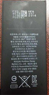 IPhone 6 Bateria