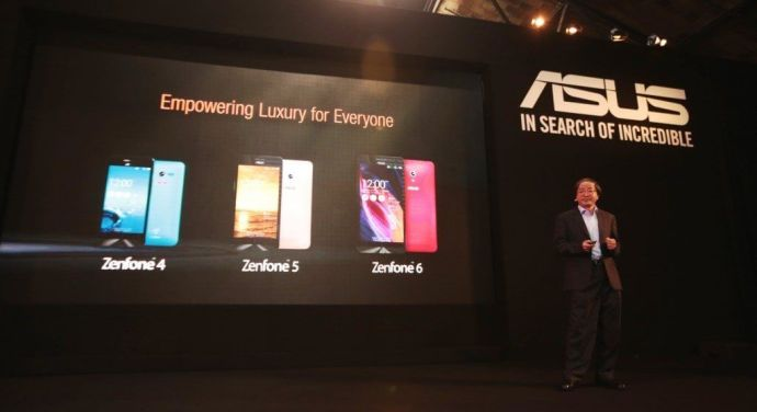 ASUS Corporate Vice President Eric Chen Announces New Product Li