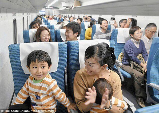 Japan maglev train trem alta velocidade