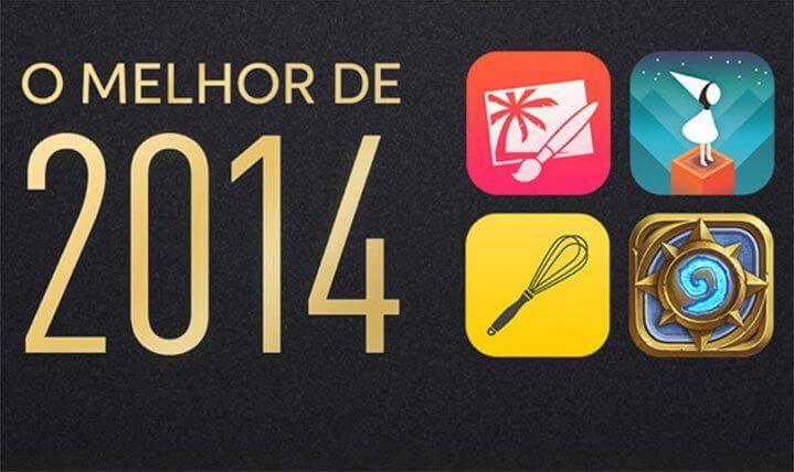 Apple anuncia os melhores jogos e aplicativos de 2014