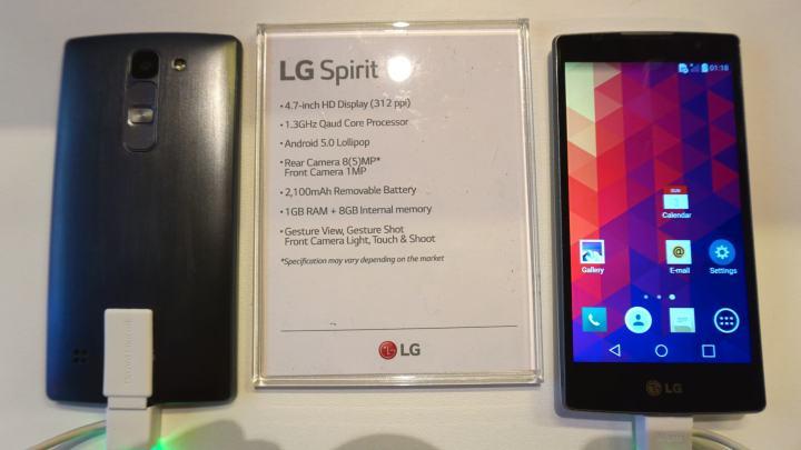 O LG Spirit no Brasil vai se chamar Volt