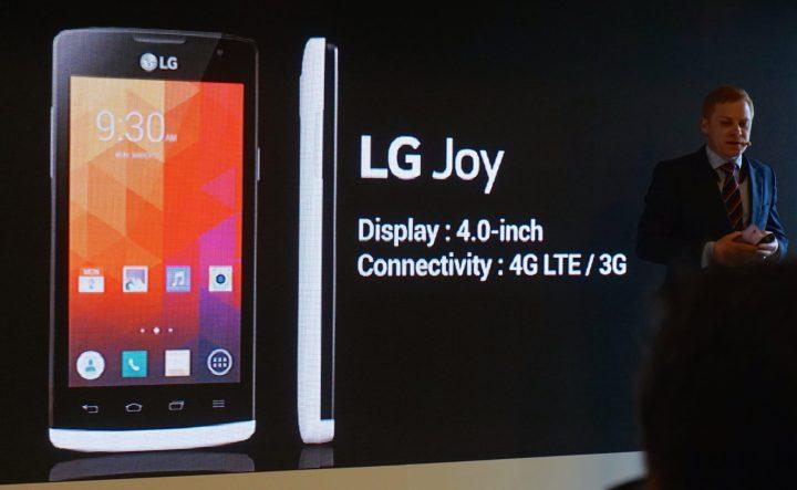 Novo LG Joy