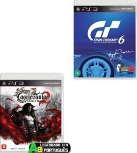 ps3 Castlevania Lords Of Shadow 2 + Gran Turismo 6 (GT6)