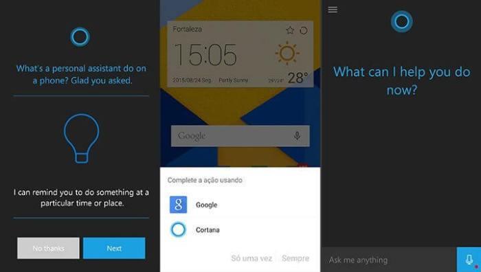 Cortana para Android