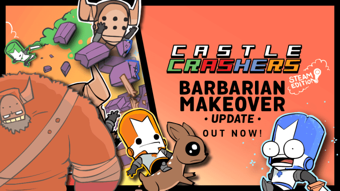Castle Crashers - Barba