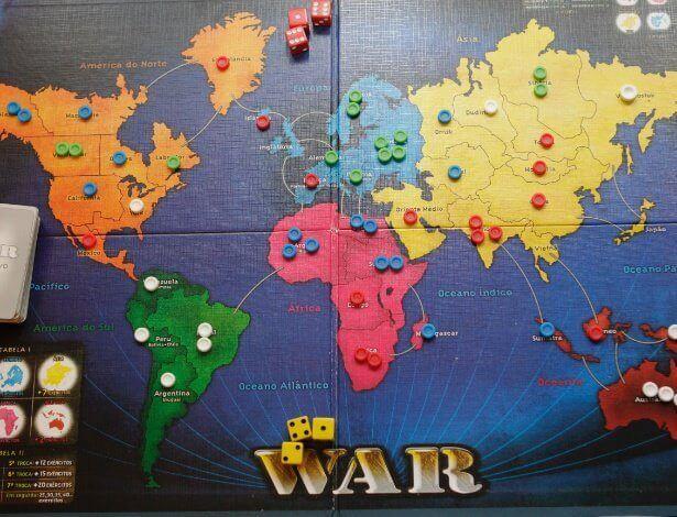War: a clássica versão em tabuleiro