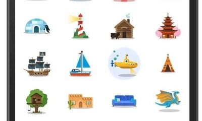 google maps-Stickers