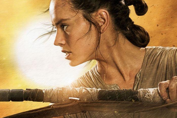 Daisy Ridley - Rey Star Wars